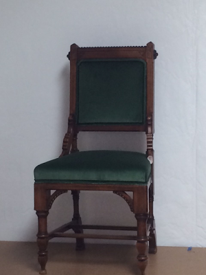 Brooklyn Workroom - CVH Chair Restoration - reupholstery and frame revitalization