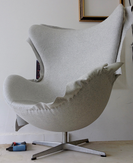 BROOKLYN WORKROOM - Reupholster Egg Chair - Arne Jacobsen Fritz Hansen
